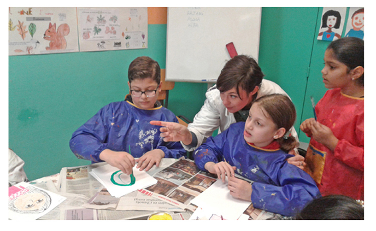 Ateliers créatifs - Coline Sauvand